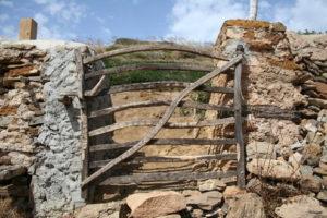 Barrera típica de Menorca